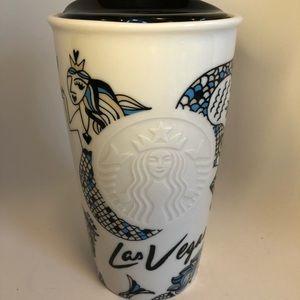 Starbucks Las Vegas Mermaids Ceramic Mug 2015